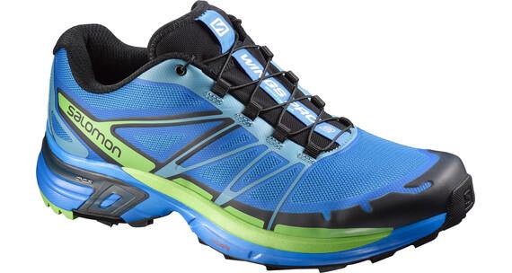 Salomon Wings Pro 2 - Zapatillas para correr Hombre - verde/azul